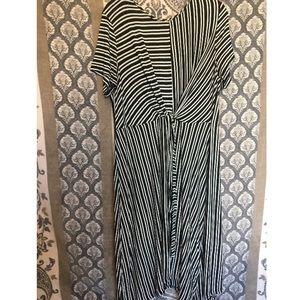 Knot maxi dress (LU)